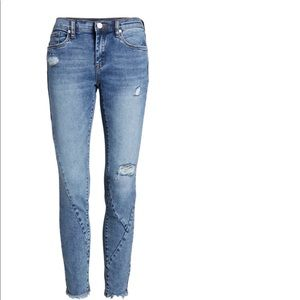 The Reade Seam Detail Skinny Jeans